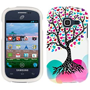 Amazon.com: Samsung Galaxy Centura Love Tree Phone Case Cover: Cell