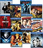 Blu-ray 12-pack (Black Hawk Down / Casino Royale / The Fifth Element / Gattaca / Hellboy / House of Flying Daggers / A Knights Tale / Layer Cake / Talladega Nights / Underworld Evolution)