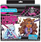 Monster High Make-Up Sketch Portfolio