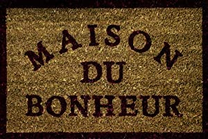 Douceur d interieur paillasson maison du bonheur 60 x 40 for Paillasson interieur maison