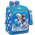 Die Eiskönigin Disney Rucksack Tasche 31x14x41 Sporttasche Elsa Anna