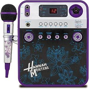 Disney Hannah Montana Karaoke + Video Camera - Purple (HM950KC)