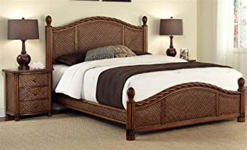 Marco Island Panel 2 Piece Bedroom Collection Size: Queen