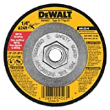 DEWALT DW4523 4-1/2-Inch by 1/4-Inch by 5/8-Inch General Purpose Metal Grinding Wheel