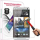 PThink® 0.3mm Ultra-thin Tempered Glass Screen Protector with 9H Hardness/Anti-scratch/Fingerprint resistant (HTC One M7)