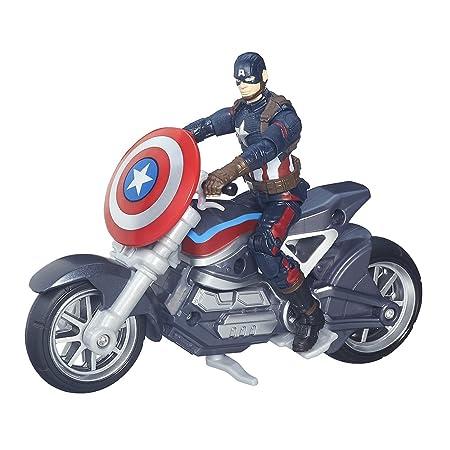 Marvel Avengers - B6354eu40 - Figurine 10 Cm + Véhicule