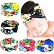 Quest Sweet® Baby Girl Newest Soft Turban Headband Head Wrap Knotted Hair Band