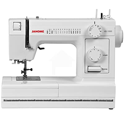 Janome HD1000 Heavy-Duty Sewing Machine Review