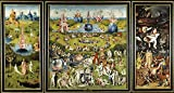 'Bosch Hieronymus The Garden Of Earthly Delights 1500 05 ' Oil Painting, 18 X 34 Inch / 46 X 85 Cm ,printed On Polyster Canvas ,this Best Price Art Decorative Canvas Prints Is Perfectly Suitalbe For Living Room Gallery Art And Home Decor And Gifts