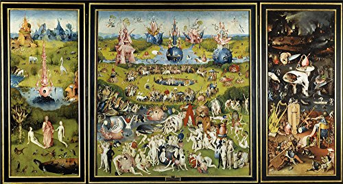 'Bosch Hieronymus The Garden Of Earthly Delights 1500 05 ' Oil Painting, 12 X 22 Inch / 30 X 57 Cm ,printed On High Quality Polyster Canvas ,this Beautiful Art Decorative Prints On Canvas Is Perfectly Suitalbe For Bar Gallery Art And Home Gallery Art And Gifts (Airsoft Animal Targets compare prices)