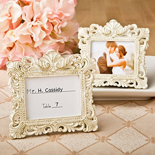 Vintage Baroque design placecard holder or picture frame (Frames Vintage compare prices)