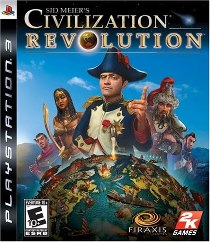 Sid Meier'S Civilization Revolution - Playstation 3 front-328038