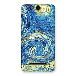 Enticing Modern Color Print Back Case Cover for Micromax Canvas Juice 3 Q392