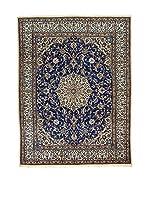 Eden Carpets Alfombra Nain Azul/Beige/Marrón 252 x 197 cm