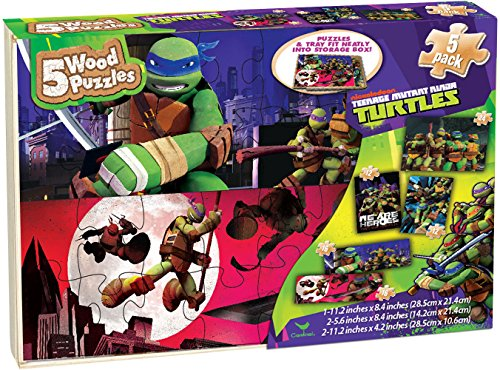 Teenage Mutant Ninja Turtle Puzzle Pack by Cardinal