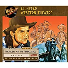 All-Star Western Theatre  by  CBS Radio Narrated by  full cast