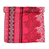 Frabjous Floral Polycotton Double Size Dohar (Red)