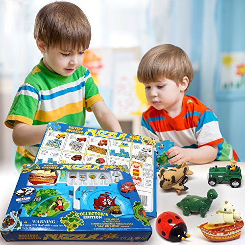 ideas in life puzzle track play set