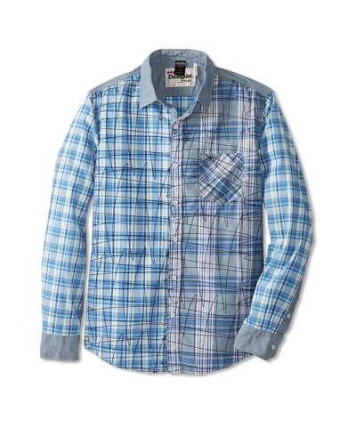 Desigual Men's Piet Long Sleeve Woven Shirt