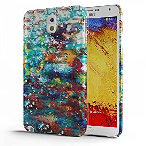 Koveru Back Cover Case for Samsung Galaxy Note 3 - Colored brushes