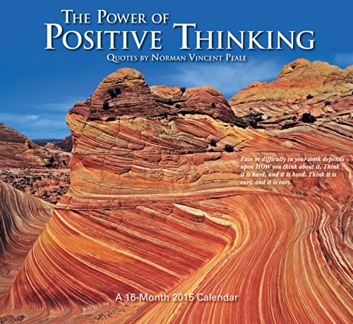 The Power of Positive Thinking Wall Calendar (2015) (Positive Wall Calendar 2015 compare prices)