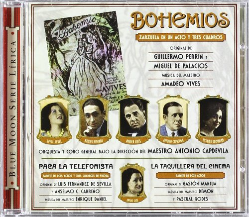 Bohemios - VIVES - CD