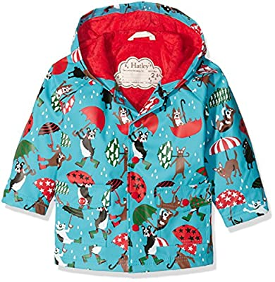 Hatley Boy's Raining Dogs Raincoat