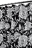 Park B. Smith Peony Shower Curtain, Black/White