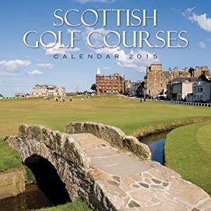 2015 Scottish Golf - Scotland Calendar