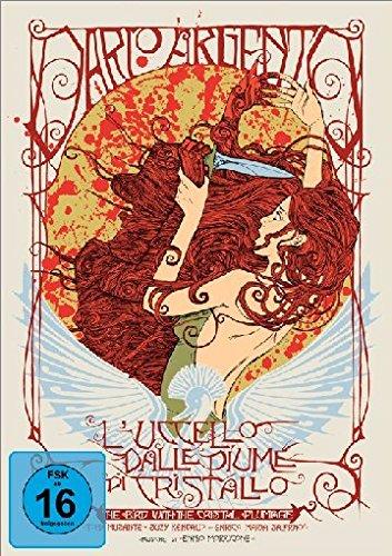 Das Geheimnis der schwarzen Handschuhe (L' uccello dalle piume di cristallo) - Mediabook (+ DVD) (+ Bonus-DVD) [Limited Collector's Edition]