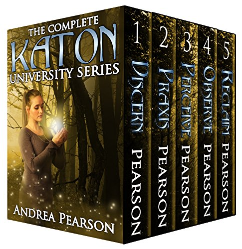 The Complete Katon University Series by Andrea Pearson ebook deal