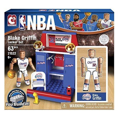 The Bridge Direct NBA Locker Room (Starter) Set: Blake Griffin by The Bridge Direct