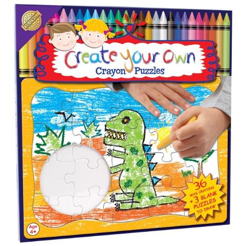 Crea il tuo puzzle con 36 Colorato Crayons