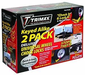 Trimax TCL275 Medium Deluxe Keyed Alike Wheel