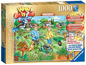 Ravensburger What If Open Day in The Garden Puzzle (1000 Pieces)