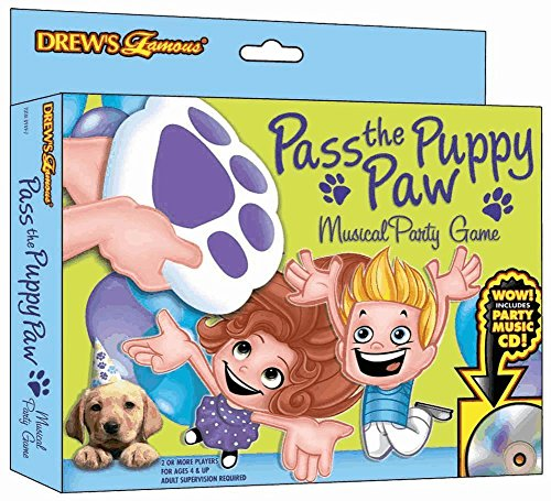 Pass The Puppy Paw Musical Party Game