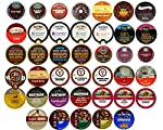 40-count Coffee Only Single Serve Cups for Keurig K cup Brewer Variety Pack Sampler
