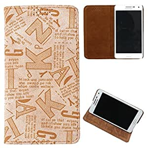 DooDa PU Leather Flip Case Cover For Sony Xperia L