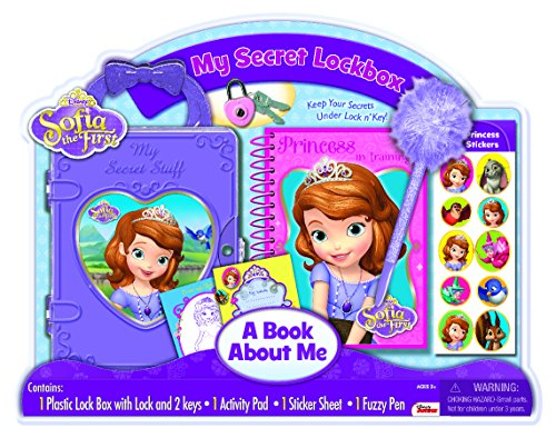 Bendon Disney Sofia The First Lock Box with Diary