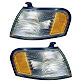 1995-1998 Nissan 200SX & 1995-1999 Sentra Corner Park Light Turn Signal Marker Lamp Pair Set Right Passenger AND Left Driver Side (1995 95 1996 96 1997 97 1998 98 1999 99)