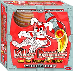 Killer Bunnies and the Journey to Jupiter Red Booster Deck