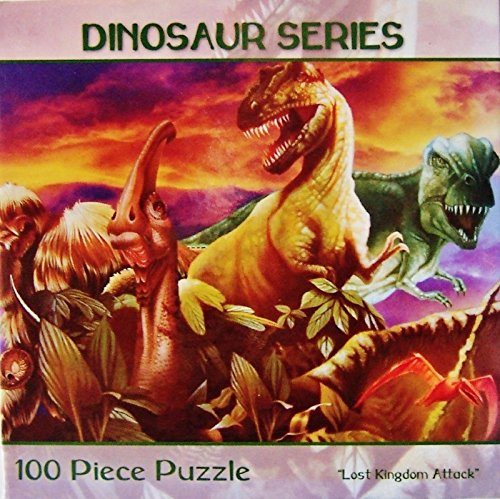 Dinosaur Series Jigsaw Puzzles (Lost Kingdom Attack)100 Pieces