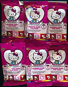 Hello Kitty's 40th Anniversary Trading Card (20) Fun Packs