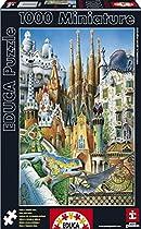 Educa Borras 1000 Piece Miniature Puzzle - Collage  By EDUCA