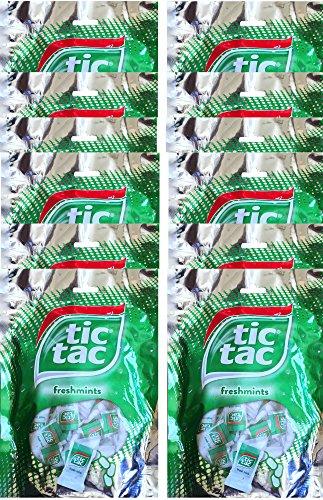 Tic Tac Freshmints Mini Packs Net Wt 3.3 Oz (12) (Tic Tac Mini Packages compare prices)
