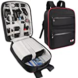 BUBM Game Bag Backpack, Travel Gear Carry Case for PS4 Pro Game Console and Accessories, Lightweight and High Capacity, Compatible with PS4, PS4 Slim, PS4 Pro, Xbox, Xbox One S (Color: Compatible with PS4, PS4 Pro, Xbox, Xbox One S)