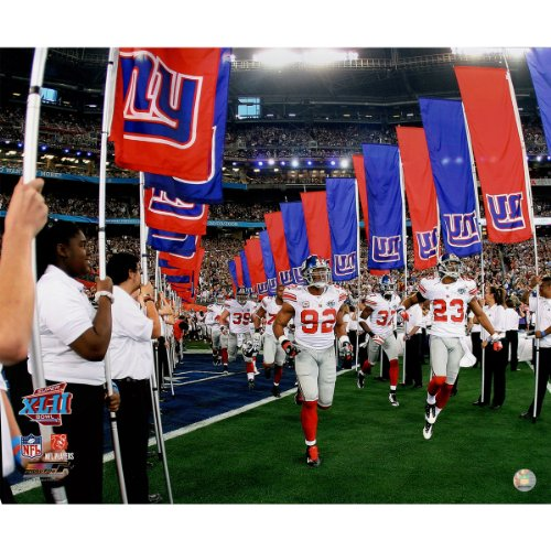 Giants Coming Out Of Tunnel For Sb Xlii 20X24 Photo Uns. front-705278