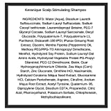 Keranique Scalp Stimulating Shampoo, 8 Fl Oz – Keratin Amino Complex, Free of Sulfates, Dyes and Parabens | Great for Thinning, Fine and Damaged Hair