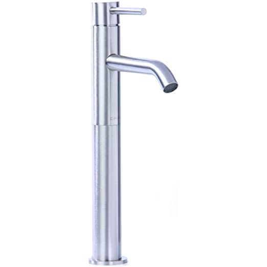 Cifial 225.101.721 Techno 25 Single Handle High-profile Bathroom Faucet, Polished Nickel