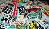 60 Girl Alien Workshop Toy Machine Etc. Stickers Skateboard Deck